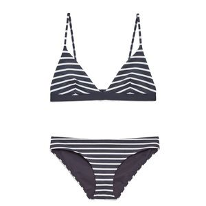 COS Striped Bikini Set
